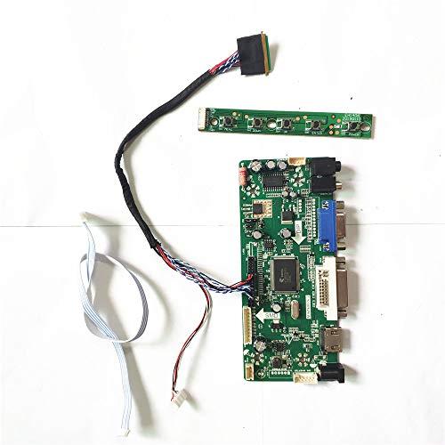 Für B156XTN02.0 B156XTN02.1 MNT68676 Bildschirm Controller Board HDMI + VGA + DVI 15,6 Zoll WLED 40Pin LVDS Notebook PC LCD 1366 * 768 DIY Kit (B156XTN02.0)
