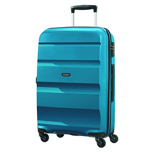 American Tourister Bon Air - Spinner M Equipaje de mano, 66 cm, 57.5 liters, Azul (Seaport Blue)