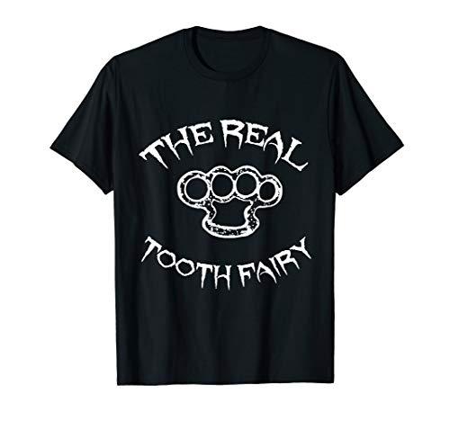Cool Tooth Fairy Brass Knuckles Halloween T-Shirt
