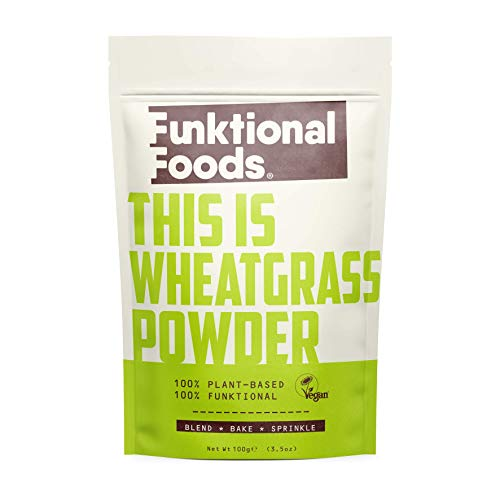 Funktional Foods Wheatgrass Powder 100g
