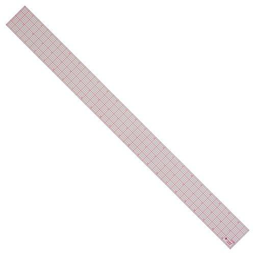 Westcott 8ths Graph Ruler, 2 x 24', Transparent (W-248)