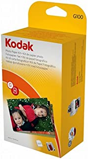 Kodak G-100 EasyShare Printer Dock Color Cartridge & Photo Paper Refill Kit