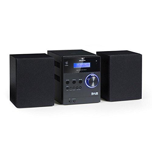 auna MC-20 DAB Micro Stereo System - DAB + , Bluetooth , Wireless , FM...