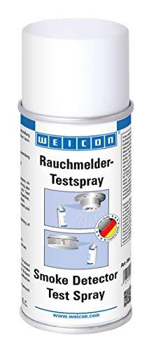 WEICON Rauchmelder Testspray 150ml rückstandsloses Testgas für Rauchmelder