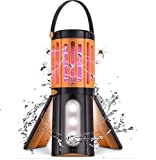 Lukasa Camping Mosquito Killer Lamp, 2 In 1 Bug Zapper Light Fly Trap