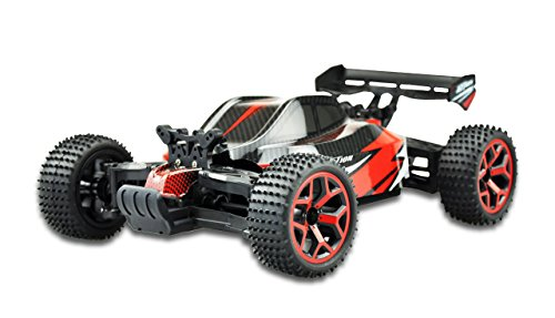 Amewi 22222–Buggy Storm D51: 184WD RTR, Veicolo, Rosso