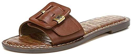 Sam Edelman womens Granada Slide Sandal, Dark Bourbon, 8.5 US