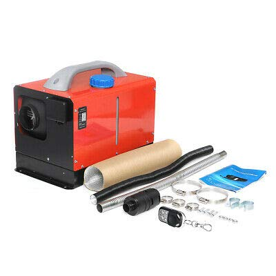 Kaibrite 12V 8KW Diesel Lufterhitzer Kit Auto Standheizung Luftheizung&LCD-Thermostat Für Wohnmobile, Vans, LKWs, Wohnmobilanhänger, Boote