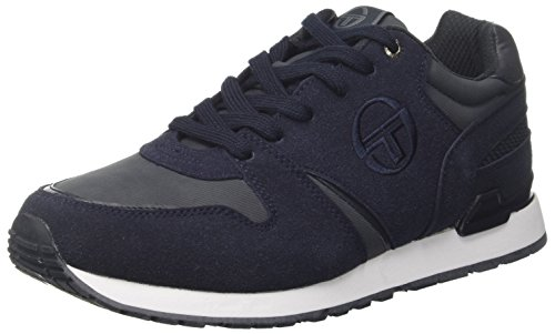 Sergio Tacchini STM723204, Sneakers Basses Homme - Bleu - Bleu (Navy 22), 40 EU EU