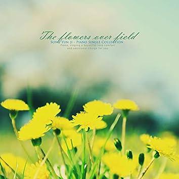 A flower over a field