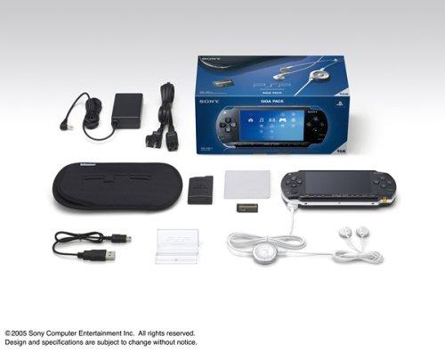 PSP「プレイステーション・ポータブル」ギガパック(PSP-1000G1)【メーカー生産終了】(未定)