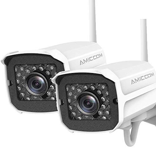AMICCOM 1080P Outdoor Security Camera