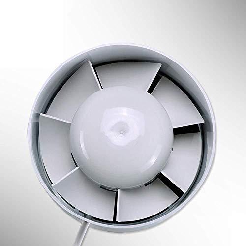 Mr.T Deckenventilator Lüftungsabzug Ventilator Lüftungsventilator 150 Rohr Pressurized Seitenwand Inlet Fane Energieeinsparung große Luftvolumen Leistungsstarke Abluftventilator (Size : B)