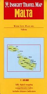 Malta Insight Travel Map