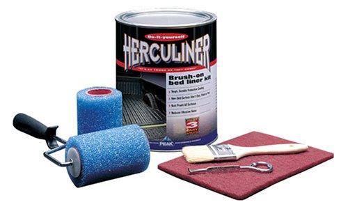 Herculiner Grey Kit 6 foot Truck Bed Roll on Bedliner Kit
