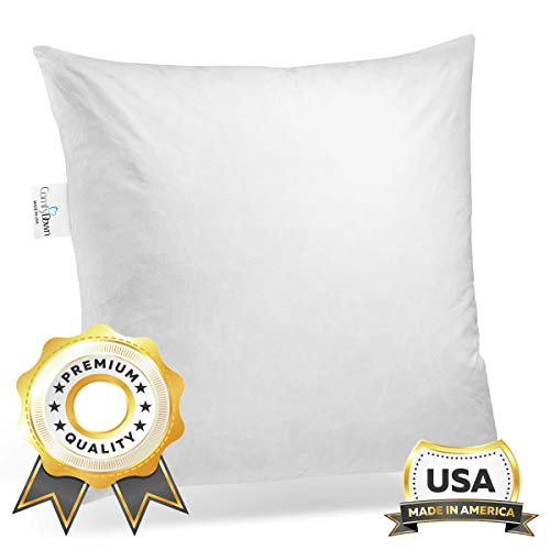 24 inch feather pillow insert - 6