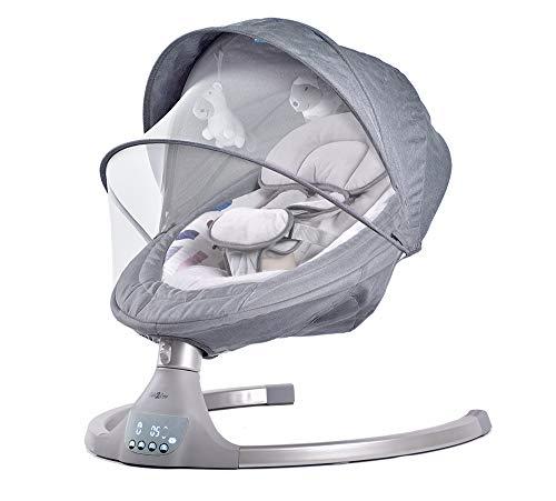Balancelle bébé/transat électrique bebe ALPHA (gris)