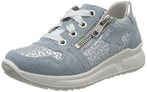 Superfit Mädchen Merida Sneaker, Blau (Hellblau 85), 33 EU