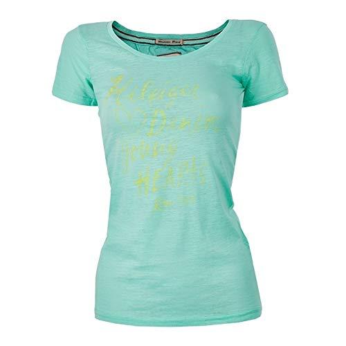 Tommy Hilfiger Damen T-Shirts (Medium, Türkis)