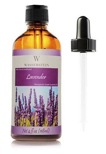 118 ml/4 oz ätherisches Öl für Aromatherapie, 100% reines Basic Öl im therapeutisches Reinheitsgrad von Wasserstein (Lavender)