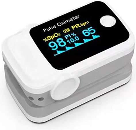 Sonolife Oxímetro Digital de Pulso Tipo Dedo con Pletismografía