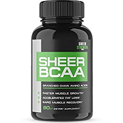 AMAZON - (Sheer Strength Labs) BCAA Capsules