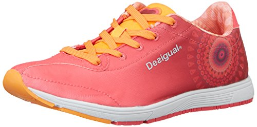 Desigual Judith - Scarpe Sportive da Donna, Rose 3177 Paradise Pink, 37 EU