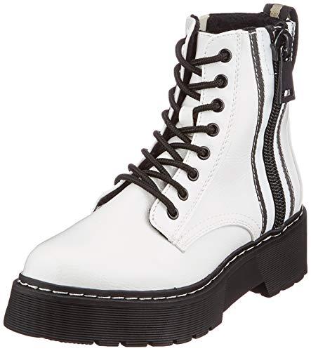 Tom Tailor Womens 9096402 Mid Calf Boot Bootie Boot, Weiß, 38 EU