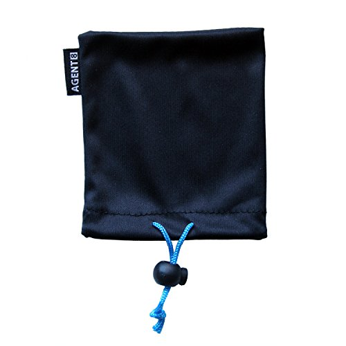 Agent 8 Microfiber Soft Cleaning & Protective Storage Pouch for GoPro Hero