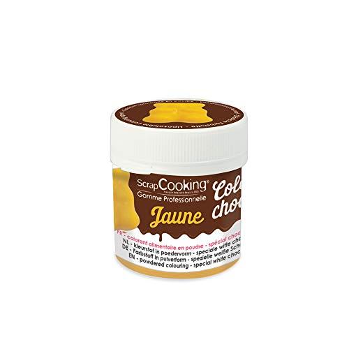 Colorante alimentario soluble en grasa Color'choco - Amarillo