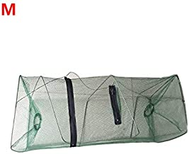 Cofemy Crawfish Trap, Crab Fish Trap, Foldable Fishing Bait Trap Cast Net Cage for Catching Small Bait Fish Eels Crab Lobs...