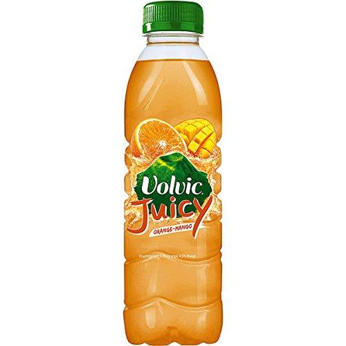 24 Flaschen Volvic Orange Mango a 500ml inc. 6,00€ EINWEG Pfand PET Flasche
