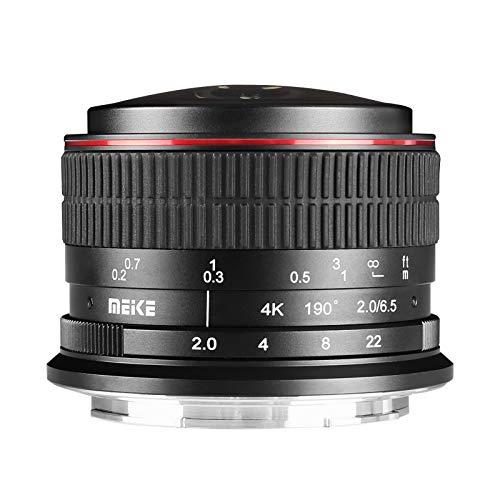 Meike 6.5mm f2.0 APS-C Ultra Wide fisheye Wide Angle Fixed fisheye Lens for Nikon Z-Mount Mirroless Cameras Z50