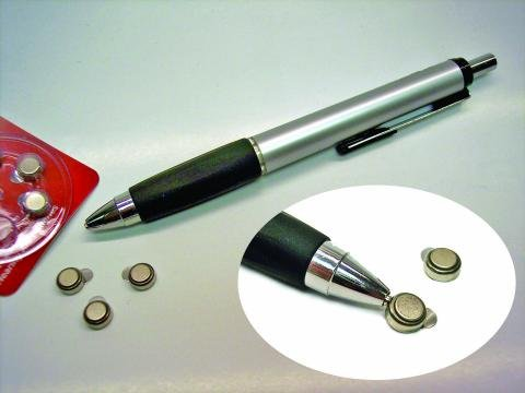 Hearing Aid Battery Magnet Stick