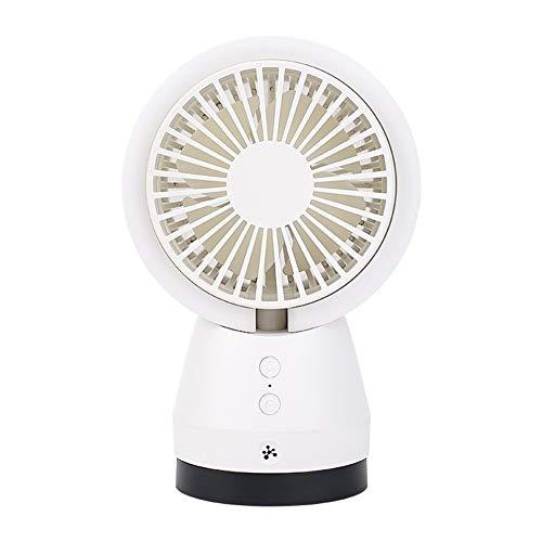 Mini ventilador de escritorio portátil ventilador Mini ventilador Ventilador USB de escritorio Ventilador de 3 velocidades Velocidad del viento Ventilador de enfriamiento de aire interior Oficina en e