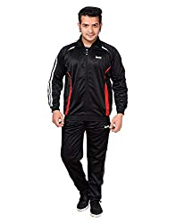 Devil Boys Polyester Black Tracksuit