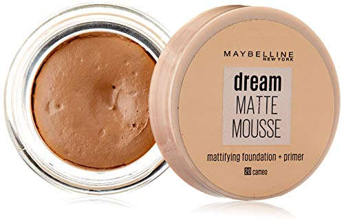 Maybelline Base maquillaje Dream Mat Mousse nº 20