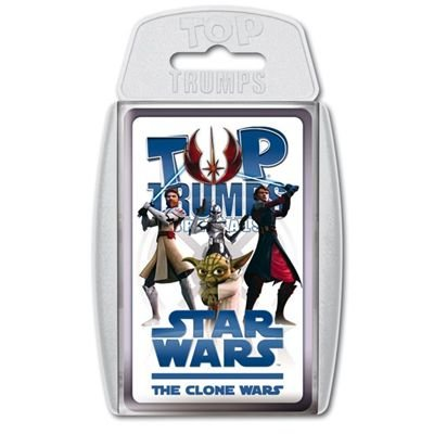 Winning Moves 60727 Top Trumps - Star Wars The Clones Wars, Trumpfspiel