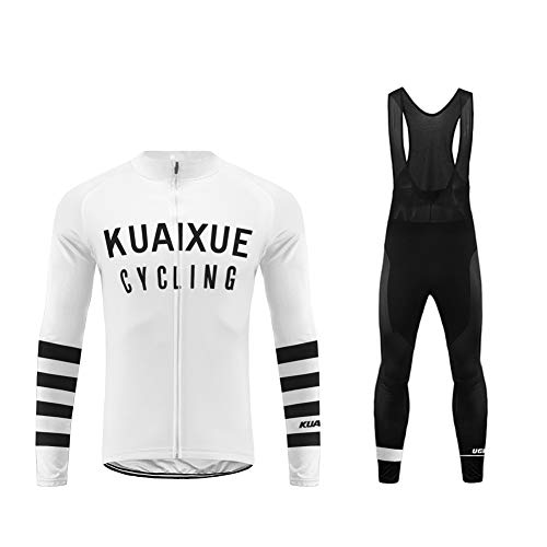 Uglyfrog 2019-2020 Funktions Fahrrad Winterbekleidung Herren Fahrrad Trikot Langarm Warmes with Fleece Rennrad Element Jersey/Bib Lange Hosen Anzüge