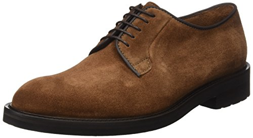 Lottusse L6692, Zapatos de Cordones Derby Hombre, Marrón (Buckster Snuff Buckster Snuff), 45.5 EU