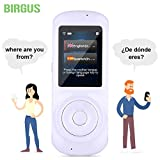Instant Voice Language Translator Device,Smart Two Way WiFi 2.4inch Touch Screen Portable Translation for Learning Travel Business Shopping-White