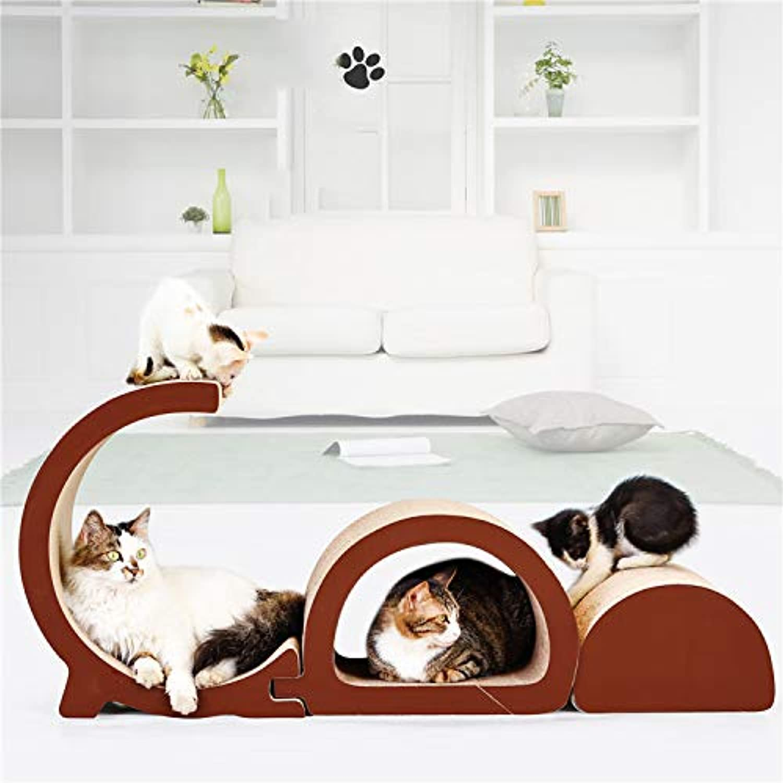 Cat Furniture Combination Cat Litter GD Combination Shape Corrugated Paper Cat Scratch Board Cat Claw Toy