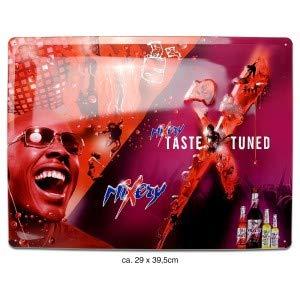 Mixery Taste Tuned Reklame Werbeschild