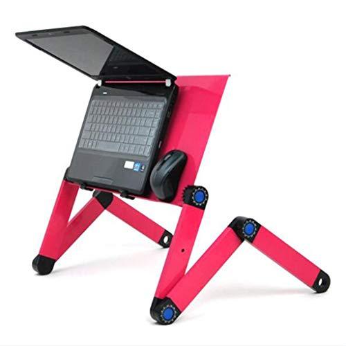 Laptop Computer Table/bed Computer Table/Ipad Desk/Lazy Aluminium klaptafel,Red