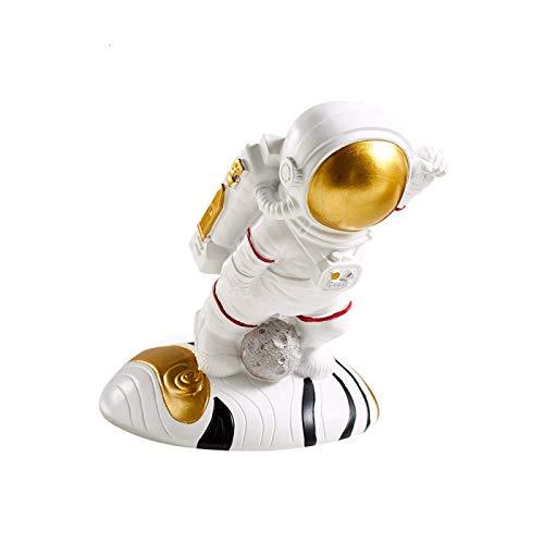 ZJZ Estatuas, Decoraciones de Escritorio Creativas Estatua, Estante de Vino de Astronauta Creativo Estante de Vino de Resina Figuras de Soporte de Botella de Vino Regalos