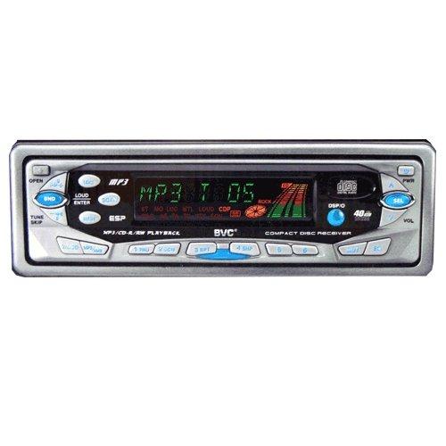 Radio CD para Coche con Reproductor de MP3/CD-R/CD-RW. Radio Estéreo Am/FM - Carátula Extraible - BVC Mod.JGCD-8MP3