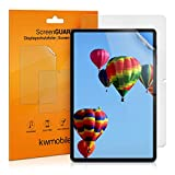 kwmobile 2X Folie kompatibel mit Samsung Galaxy Tab S7 - Full Screen Tablet Schutzfolie entspiegelt