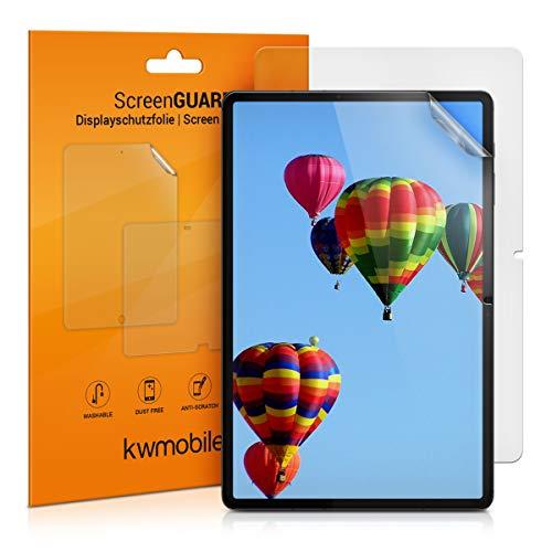 kwmobile 2X Schutzfolie kompatibel mit Samsung Galaxy Tab S7 - Folie entspiegelt Full Screen Tablet