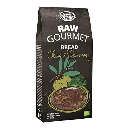 Simply Raw - RAW GOURMET BREAD Olive und Rosemary - 90 g