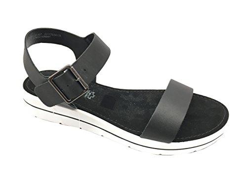s.Oliver Damen Sandaletten Da.-Sandalette 5-5-28200-20/007 schwarz 400358